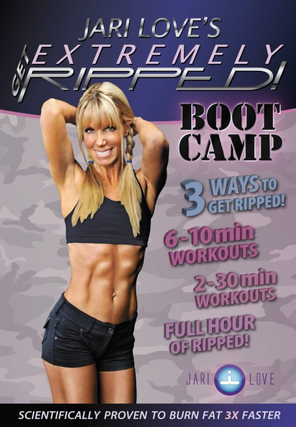 Jari Love-Get Extremely RIPPED! Bootcamp