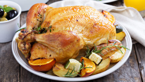 Healthy Roasted Chicken