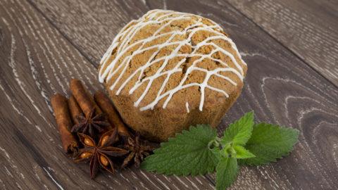 Tasty Protein Pumpkin Cinnamon Rolls