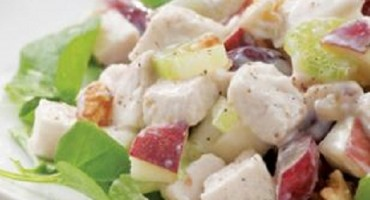 recipe -Protein Rich Chicken Waldorf Salad