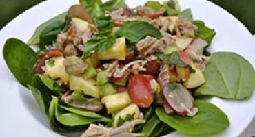 recipe – turkey spinach salad
