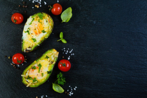 Baked Avocado & Egg: On-the-go breakfast!