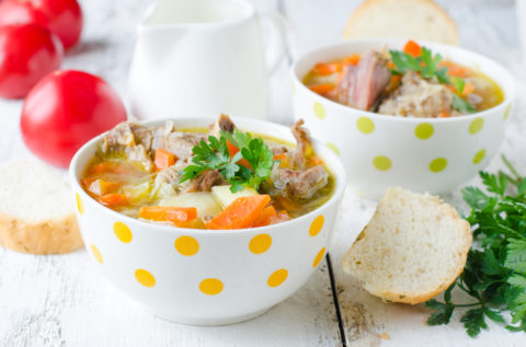 Turkey Soup – Simple, Fiber Rich & Protein Packed