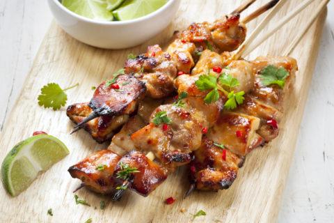 Satay Chicken Skewers Recipe