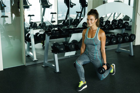 6 Dumbbell Exercises for Your Glutes