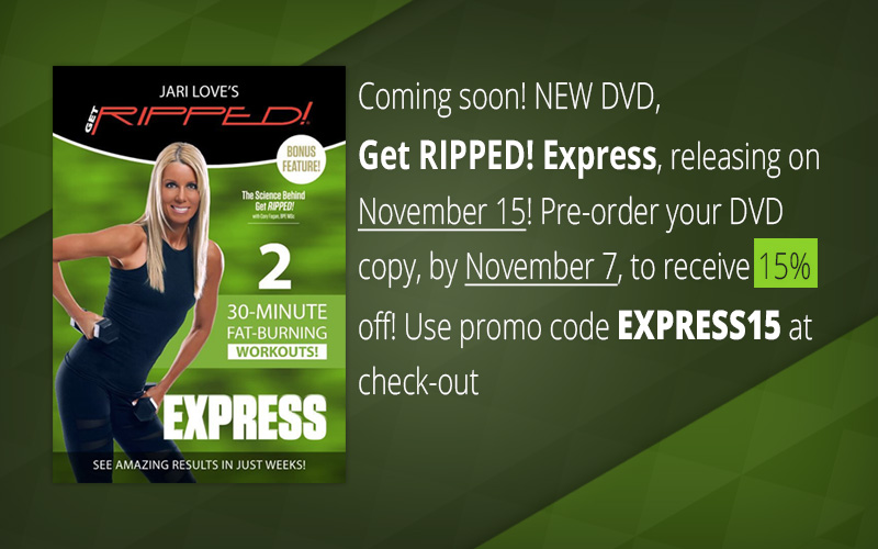 Get RIPPED! Express