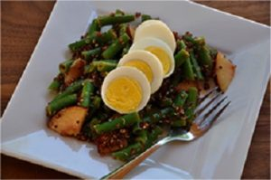 Green Bean, Egg and Quinoa Salad