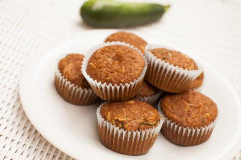 Pumpkin & Zucchini Muffins
