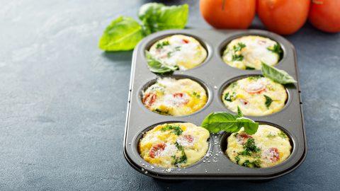 Gluten-Free – Turkey Sausage, Broccoli, and Egg Muffins